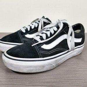 Vans Old Skool Sneaker, Black & White Size 5.5